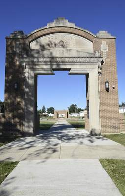 Phase 2 of Franklin School Park is expected to begin early next year. Fundraising for that phase is underway.