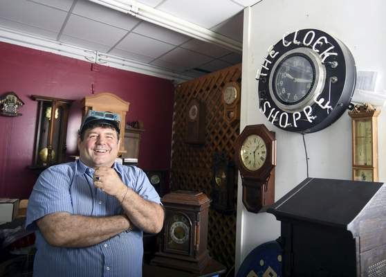 """Hansen says each clock is fixed in different way. Among the tougher fixes are cuckoo clocks, which he says are a """"tangled mess of difficulty."""""""