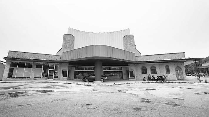Chad Ryan | The Journal GazetteRenovating the interior, the exterior and the parking lot of the Clyde Theater on Bluffton Road are par tof Rick Kinney's vision for the future of what he says will be a national concert venue and multi-purpose building.