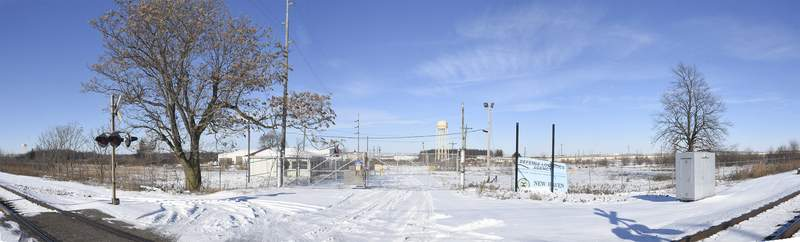Cathie Rowand   The Journal Gazette The decades-old Casad Depot in New Haven may become an industrial park.