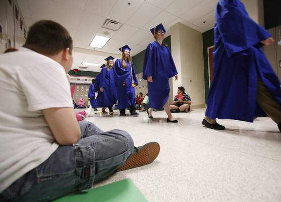 File East Allen University graduated its first class in May.