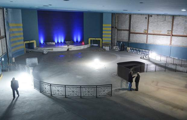 Samuel Hoffman | The Journal Gazette Clyde Theatre in Quimby Village plans to transform its space to seat 600 or pack in a standing audience of 2,200 for musical acts.