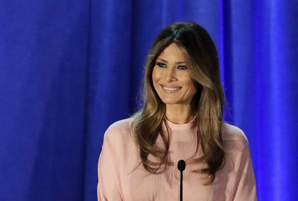 Associated Press People are fascinated by what the incoming first lady, Melania Trump this year, wears to the inauguration.
