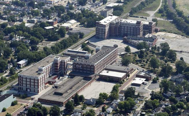 Samuel Hoffman   The Journal Gazette The local GE campus has been purchased by a Baltimore-based firm, announced Monday.