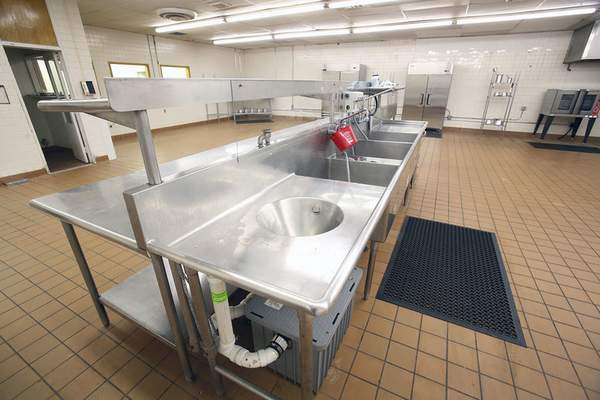 Chad Ryan   The Journal Gazette Community Harvest Kitchen on North Coliseum Blvd. has a commercial kitchen space, which it has made available for rent.