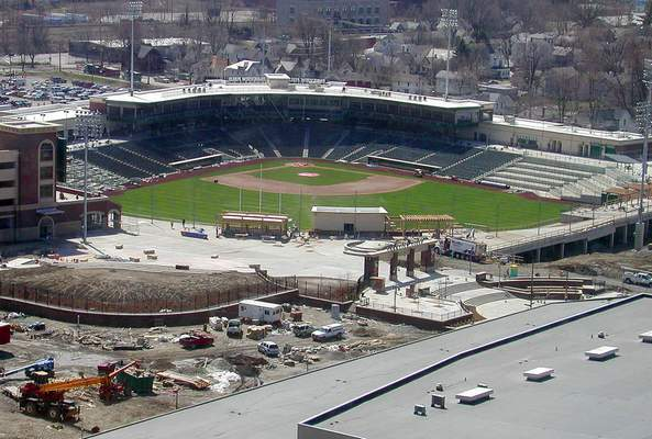File A view of Parkview Field on March 30, 2009.