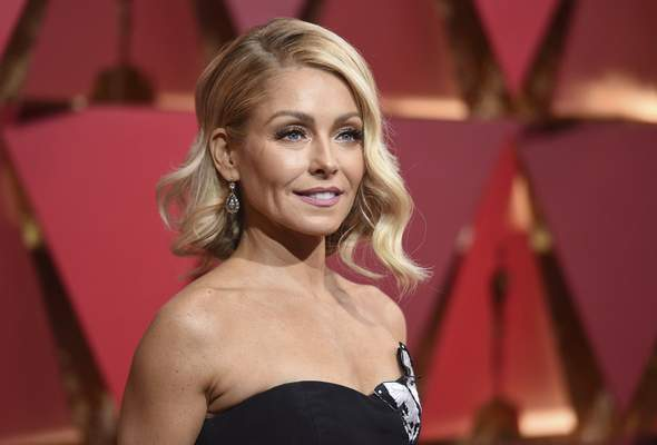 """Associated Press """"Live"""" host Kelly Ripa has been with the Disney-ABC show for 16 years."""