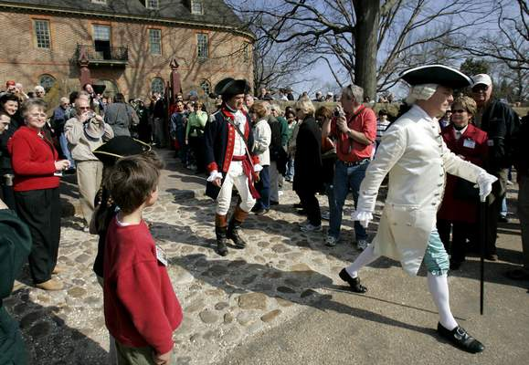 File Virginia's Colonial Williamsburg, the world's largest living-history museum, is facing a decline in visitors and millions in debt.
