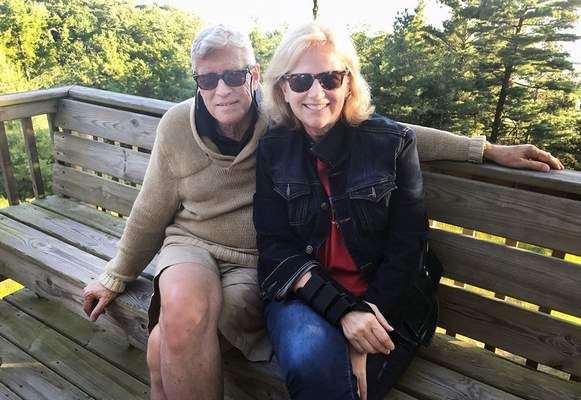 Jamie Duffy | the Journal Gazette The Rev. Michael Lindvall, pictured with is wife, Terri, will preach Sunday for the Queen of England at Crathie Kirk in Scotland, near Balmoral Castle.