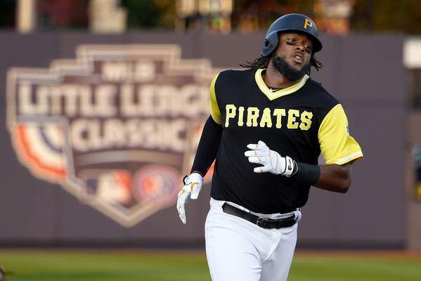 big sale 5bd7c bf1a3 Bell powers Pirates past Cards 6-3 in Little League Classic ...