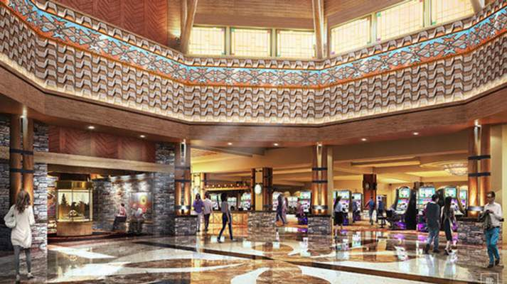 Courtesy photo The Pokagon Band of the Potawatomi Indians is building a Four Winds Casino in South Bend.