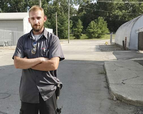 Jamie Duffy | The Journal Gazette Monte Browning, who lives on High Street at Barthold, opposed moving the ballpark downtown but now believes it has helped spur growth in the area.