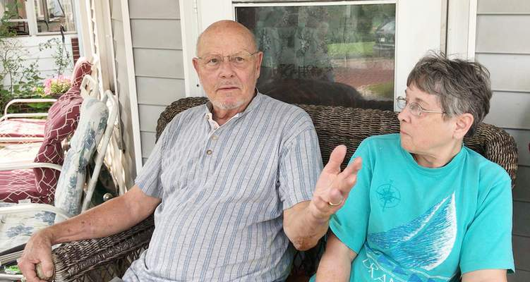 Jamie Duffy | The Journal Gazette Harold Black thinks the former GE campus should be another factory. His wife, Barbara, disagrees.