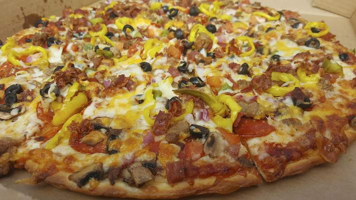 The Garbage pizza with