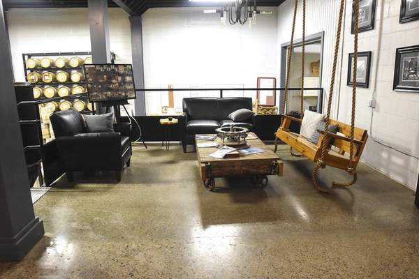 Three Rivers Distilling features three executive lounge areas at 224 E. Wallace St.
