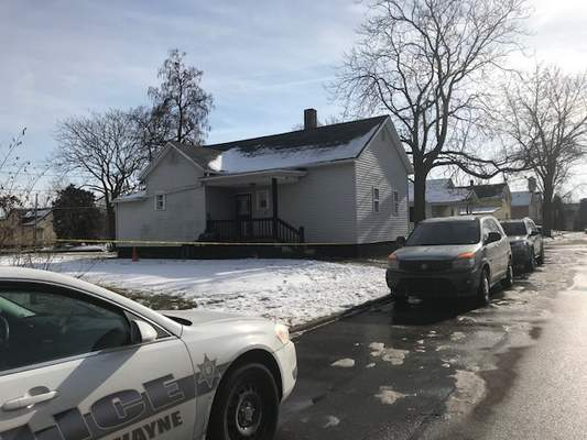 Jamie Duffy | The Journal Gazette One woman is dead and another is in critical condition following a morning shooting in the 1200 block of Lillie Street, police said.