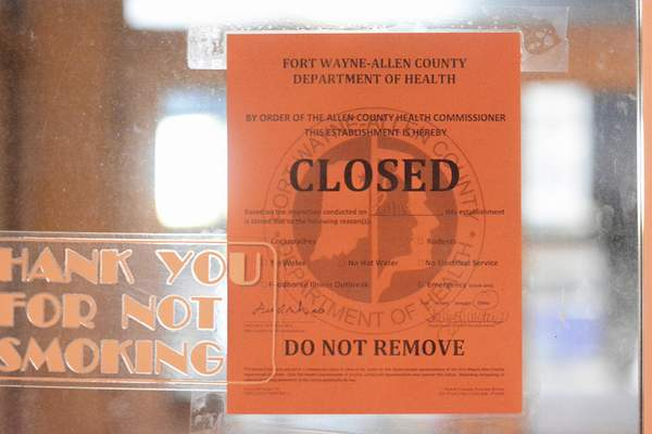 Brett Luke | The Journal Gazette The Allen County health commissioner has closed the Apollo Coventry Cinemas because of health code violations.