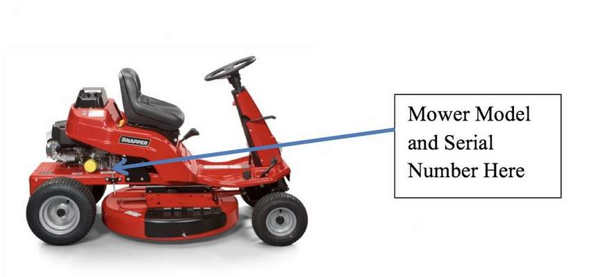 Snapper brand riding lawn mower