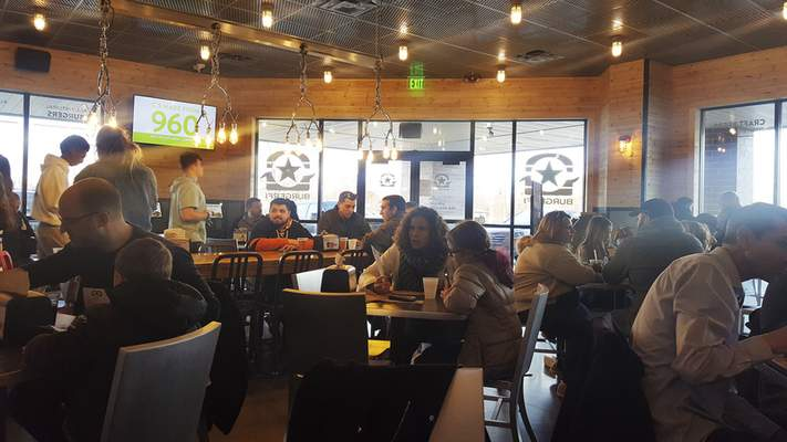 BurgerFi on Coldwater Road.