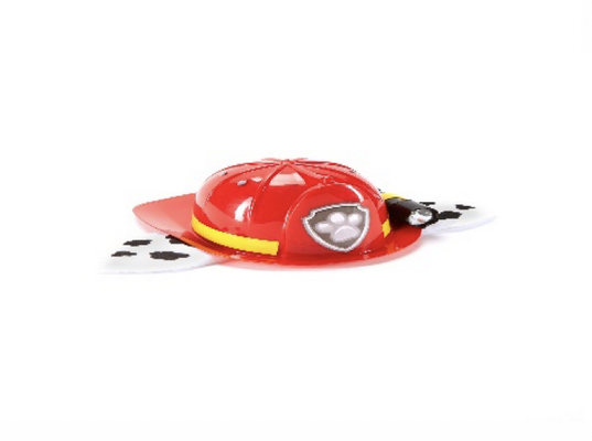 Nickelodeon PAW PATROL Deluxe Marshall Hat with flashlight (front view).