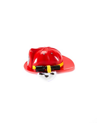 Nickelodeon PAW PATROL Deluxe Marshall Hat with flashlight attached.