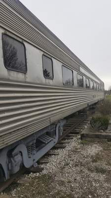 An old coach car attached to The Old Train Depot in Pierceton can be reserved for parites and hosts special theme dinners.