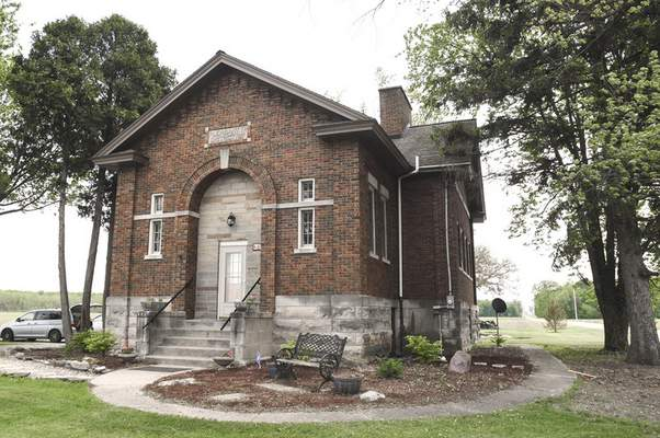 Michelle Davies | The Journal Gazette The last one-room schoolhouse built in Allen County, at  Conners and Yoder roads, is turning 100.