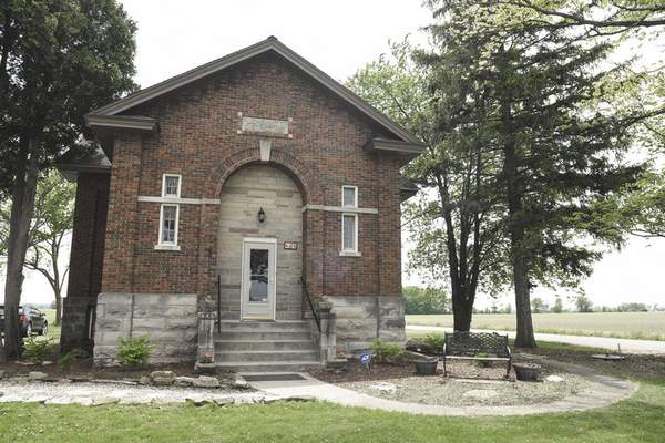 Michelle Davies | The Journal Gazette  The last one-room schoolhouse in Allen County, which was built in 1918 at the corner of Conners and Yoder roads, is turning 100 years old.