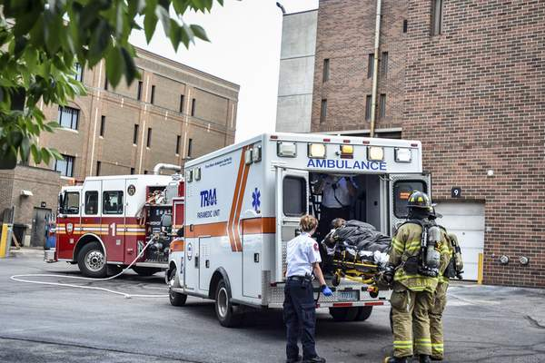 Drug fumes at jail put 5 in hospital | Police/Fire | The Journal