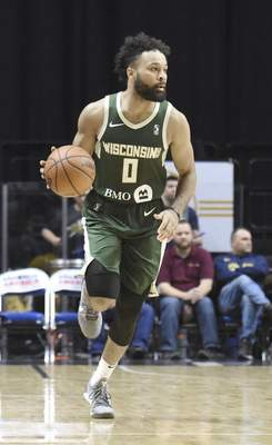 Michelle Davies | The Journal Gazette James Blackmon Jr., shown playing with the Wisconsin Herd last year, has signed a contract to play in Italy, where he hopes to prove he can still fulfill his dream of playing in the NBA.