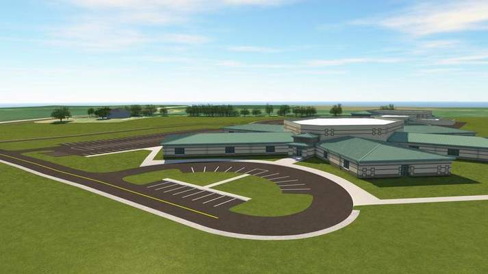 Courtesy  Northwest Allen County Schools provided renderings of the new elementary school planned for a site along Hathaway Road near Bethel Road.