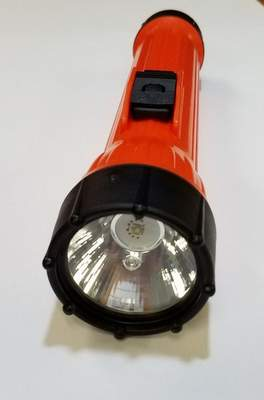 Koehler-Bright Star WorkSafe Model 2224 LED 3-D cell flashlight.