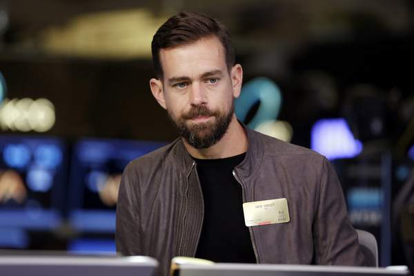 """Associated Press """"We often turn to policy to fix a lot of these issues, but I think that is only treating surface-level symptoms that we are seeing,"""" Twitter CEO Jack Dorsey says."""