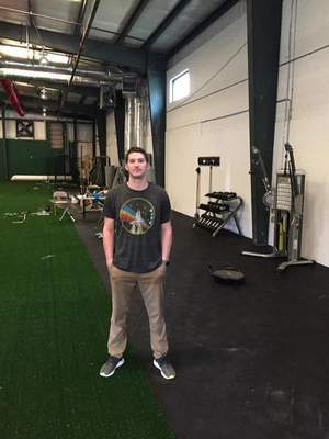 Courtesy Former Norwell pitcher Jarrod Parker, who played professionally for the Oakland A's, shows off his newsports performance facility in Nashville, Tennessee, which is set to open Sunday.
