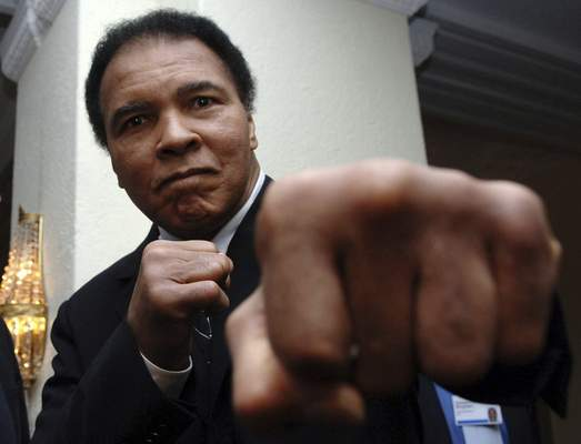 Bloomberg Muhammad Ali, shown in 2005, is reportedly an ancestor of heroic slavew Archer Alexander.