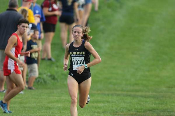 Courtesy of Aaron Suozzi Purdue Fort Wayne cross country star Emma Rafuse holds the school record in the 5K and 6K. She and her team compete in the Summit League Championship this weekend.