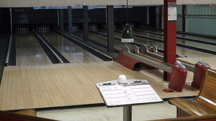 Church members acquired the bowling alley after a fire at a Huntington facility.