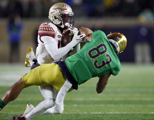 Notre Dame Beats Florida State 42 13 Remains Undefeated Irish Insights The Journal Gazette