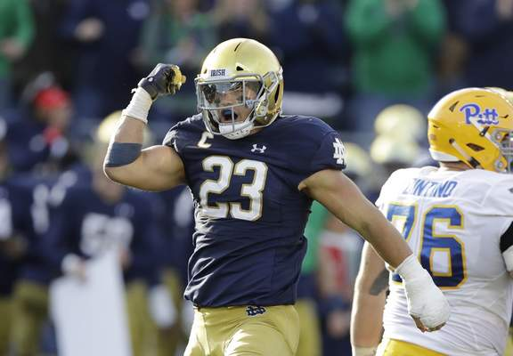 Associated Press Notre Dame linebacker and Carroll graduate Drue Tranquill has already earned his mechanical engineering degree and has gone on mission trips to the Dominican Republic.