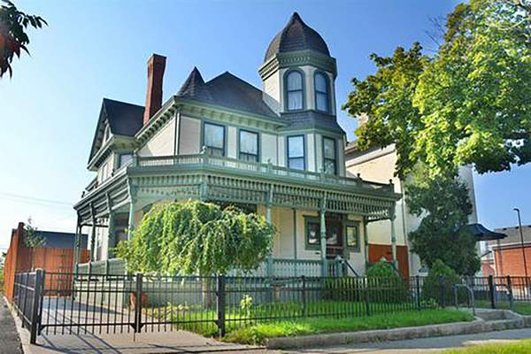 Redemption House is seeking approval for a second location at this home at 426 E. Wayne St. (Courtesy Redemption House)