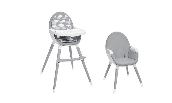 Tuo convertible high chairs.