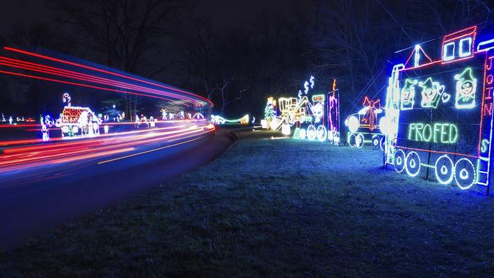Lights Attraction Ends Season With Pay What You Want Night