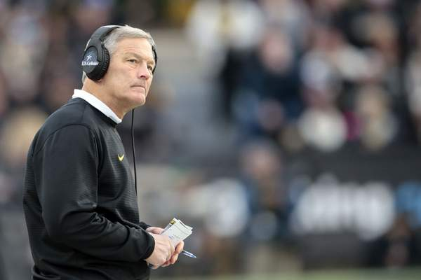 Associated Press  Iowa  coach Kirk Ferentz's Hawkeyes face Outback Bowl newcomer Mississippi State today in Tampa Fla. Iowa is 2-3 in the Outback Bowl.