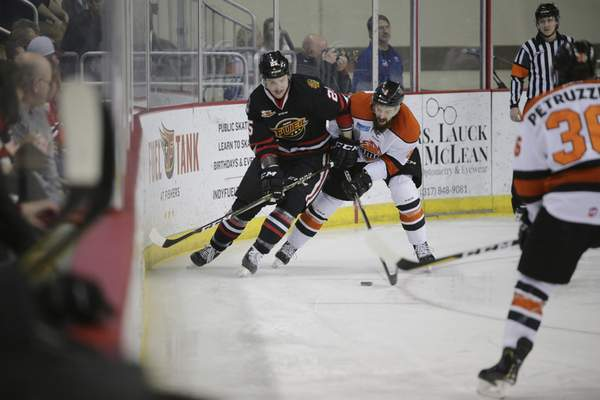Campagna's 2 goals lead K's | Ice chips | The Journal Gazette
