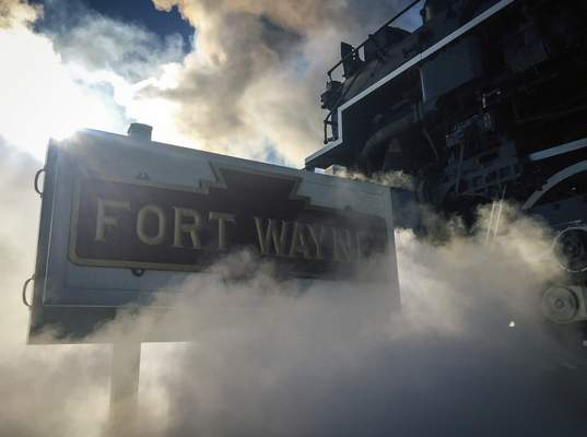 File The 1940s-era locomotive known as Nickel Plate Road No. 765 would have a home at Headwaters Junction, becoming a portion of a tourism magnet.