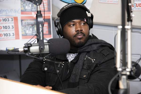 File Ben Swift, a longtime Fort Wayne rapper, is interviewed on B96.9 FM. Swift says he uses rap as a way to express himself.