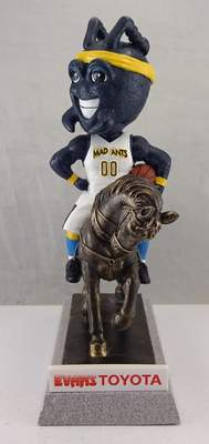 Courtesy  The Mad Ants mascot bobblehead that will be given out Saturday.