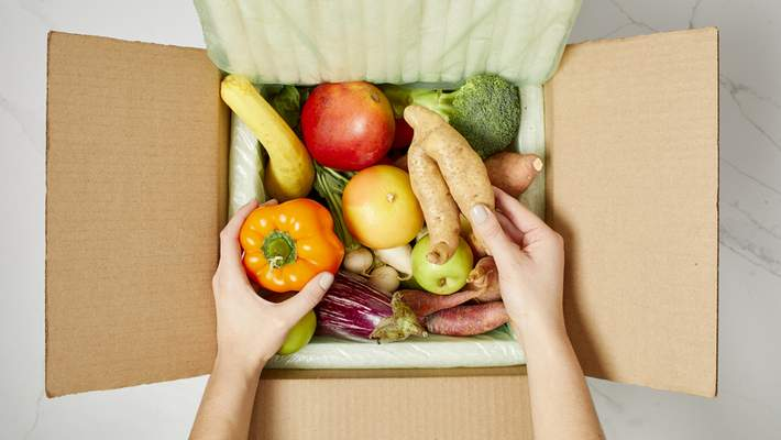 Misfits Market  Experts say there are two basic rules to reducing household food waste: Eat what you have, and buy only what you need. Also, be willing to buy fruits and vegetables that don't look perfect but are otherwise fine.