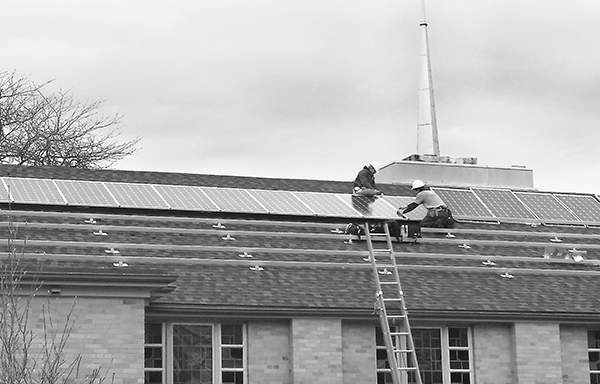 File Beacon Heights Church of the Brethren is among the area churches that have committed to solar energy in recent years.