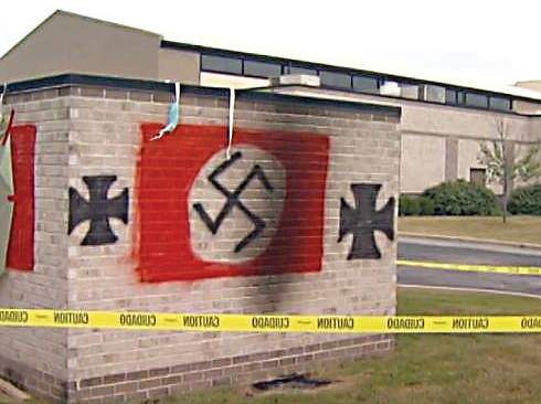 File A Carmel synagogue was defaced with racist graffiti in a widely publicized 2018 crime.